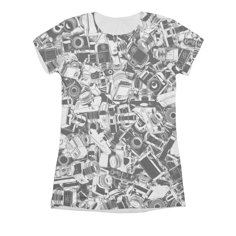Shutterbug Women's Triblend All Over Print by Grandio Design Artist Shop