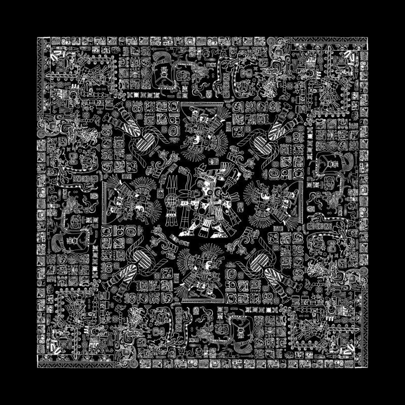 Mayan Spring B&W II Men's All Over Print by Grandio Design Artist Shop
