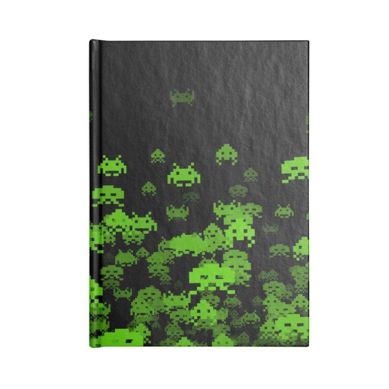 Invaded II Accessories Notebook by Grandio Design Artist Shop
