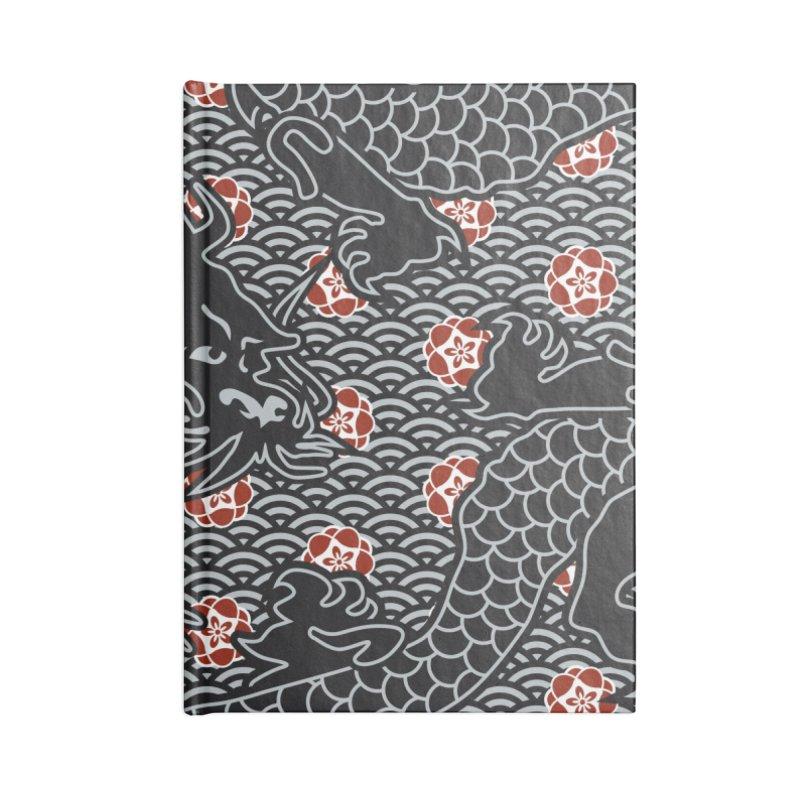 Hidden Dragon Accessories Notebook by Grandio Design Artist Shop