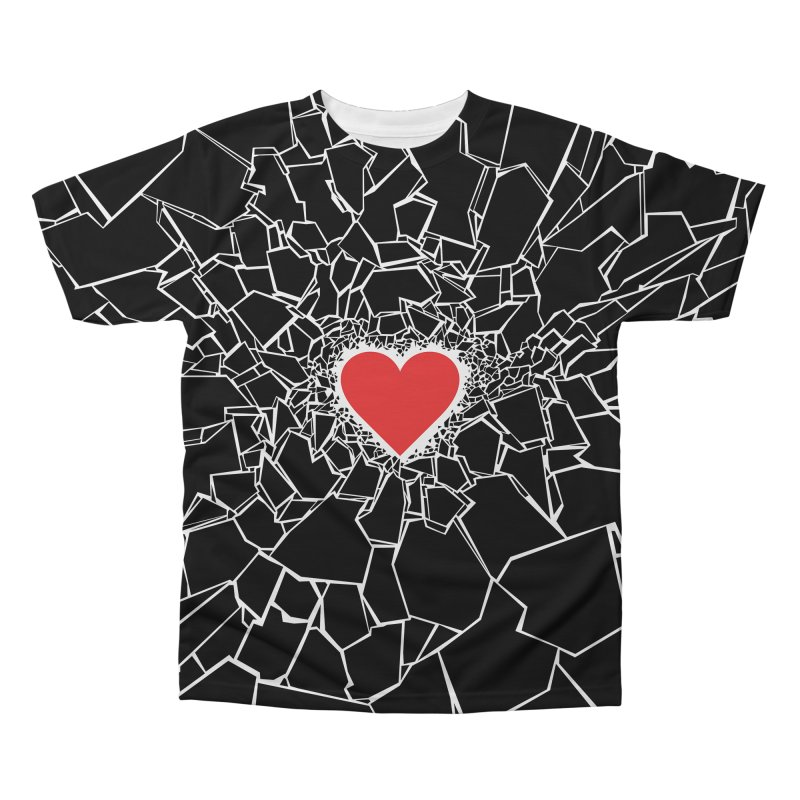 Heartbreaker III Black Men's Regular All Over Print by Grandio Design Artist Shop