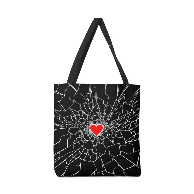 Heartbreaker III Black Accessories Bag by Grandio Design Artist Shop
