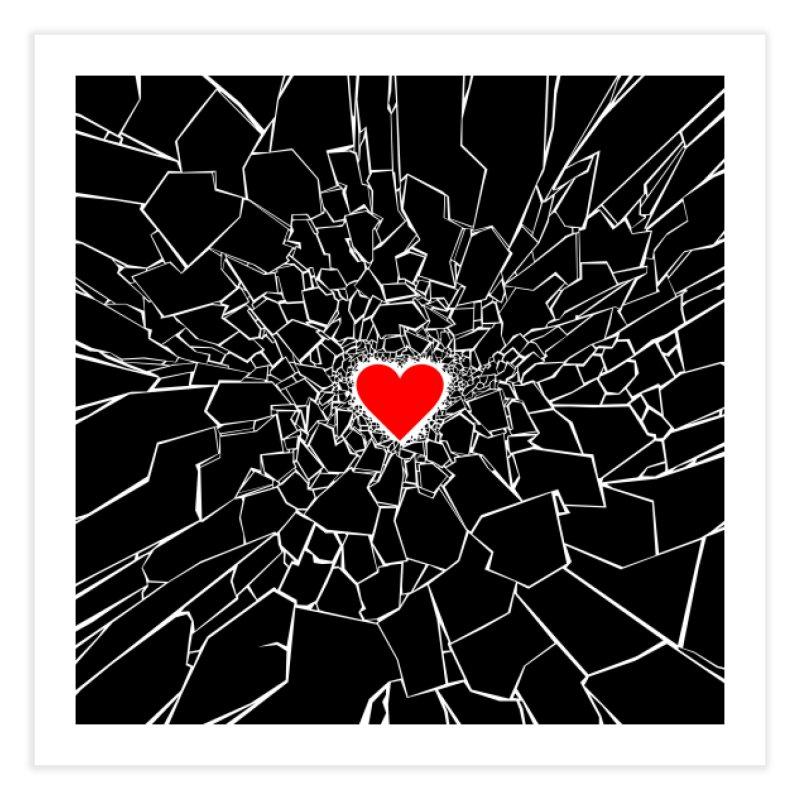 Heartbreaker III Black Home Fine Art Print by Grandio Design Artist Shop