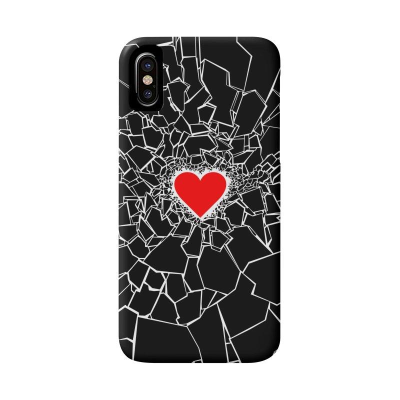 Heartbreaker III Black Accessories Phone Case by Grandio Design Artist Shop