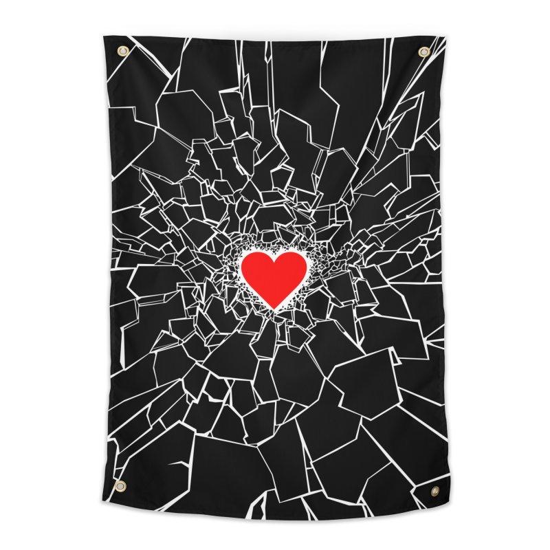 Heartbreaker III Black Home Tapestry by Grandio Design Artist Shop