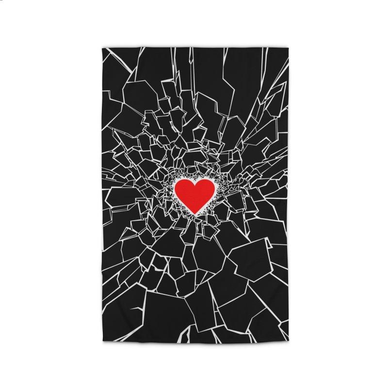 Heartbreaker III Black Home Rug by Grandio Design Artist Shop