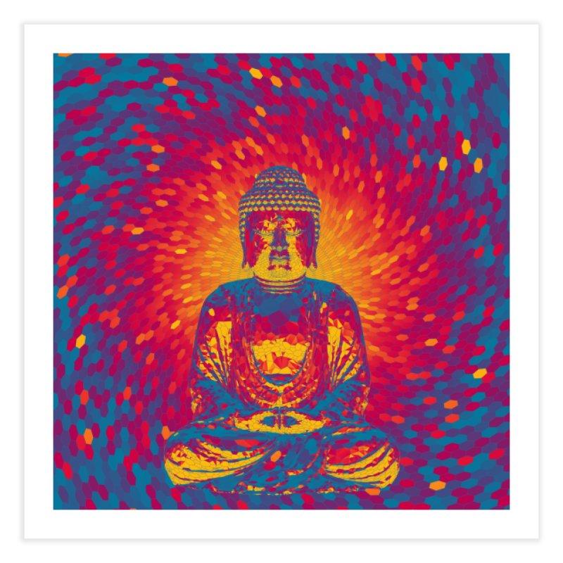 Crystal Buddha Home Fine Art Print by Grandio Design Artist Shop