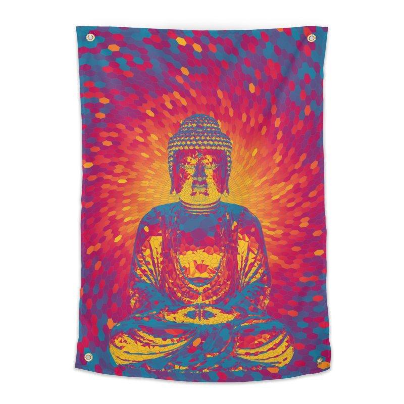 Crystal Buddha Home Tapestry by Grandio Design Artist Shop
