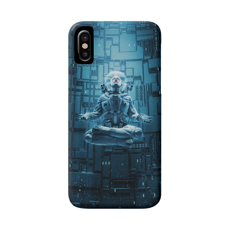 Astro Lotus Accessories Phone Case by Grandio Design Artist Shop