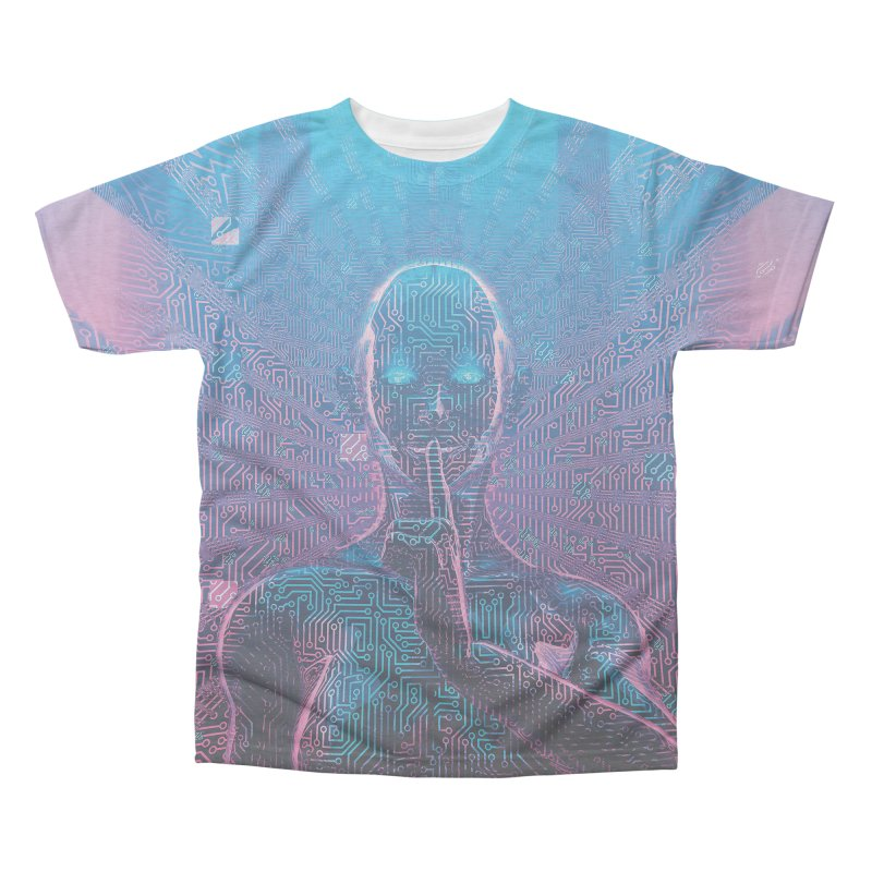 Artificial Secrets Men's Triblend All Over Print by Grandio Design Artist Shop
