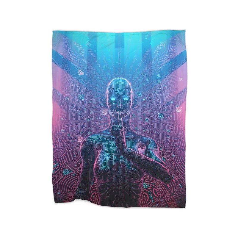 Artificial Secrets Home Blanket by Grandio Design Artist Shop