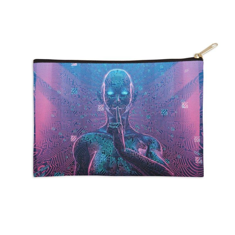 Artificial Secrets Accessories Zip Pouch by Grandio Design Artist Shop
