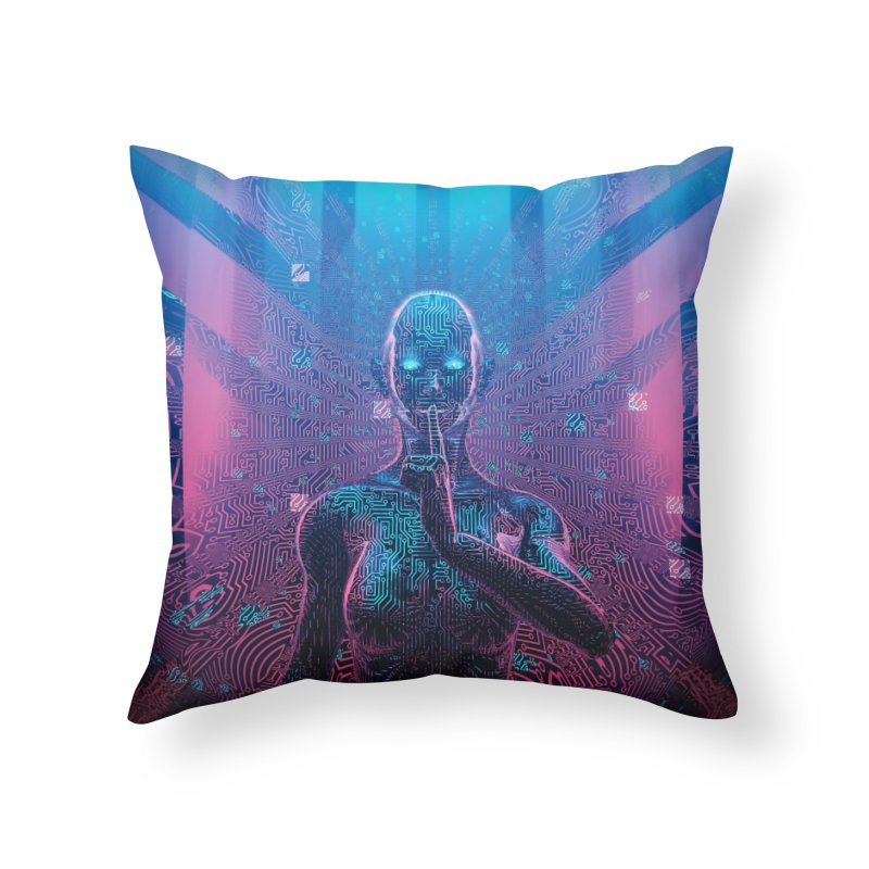 Artificial Secrets Home Throw Pillow by Grandio Design Artist Shop