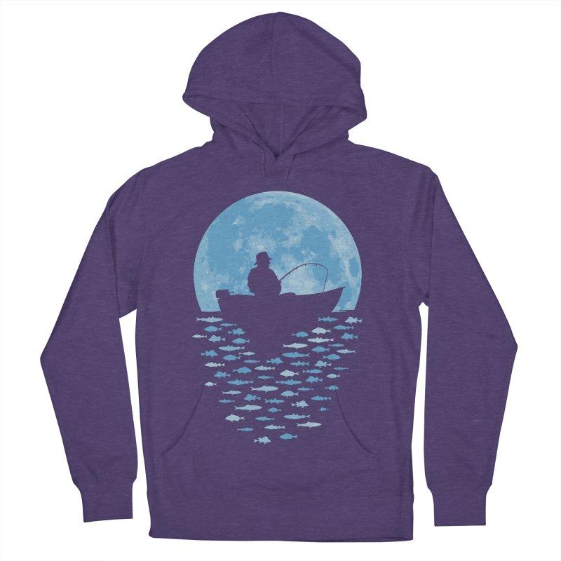 Hooked by Moonlight Men's Pullover Hoody by Grandio Design Artist Shop