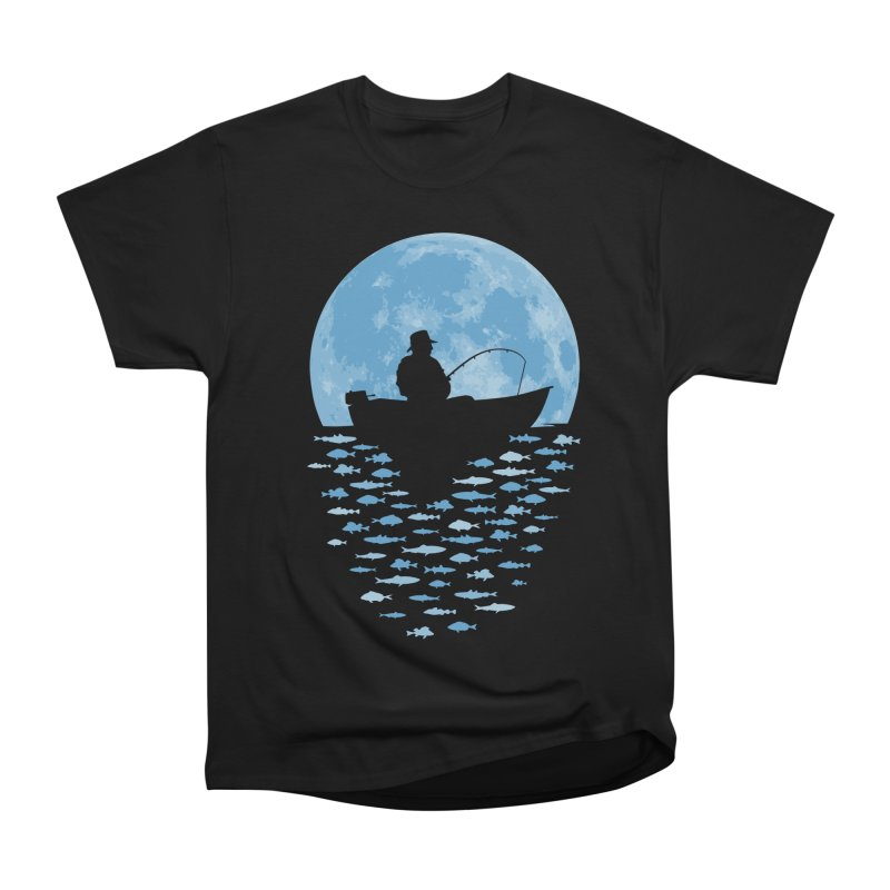 Hooked by Moonlight Men's Heavyweight T-Shirt by Grandio Design Artist Shop