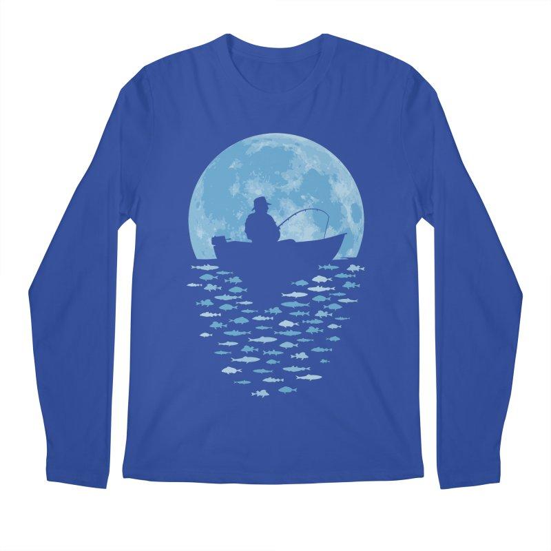Hooked by Moonlight Men's Longsleeve T-Shirt by Grandio Design Artist Shop