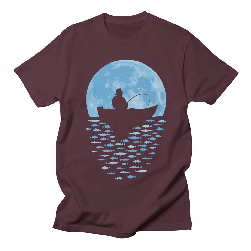 Hooked by Moonlight Women's Unisex T-Shirt by Grandio Design Artist Shop