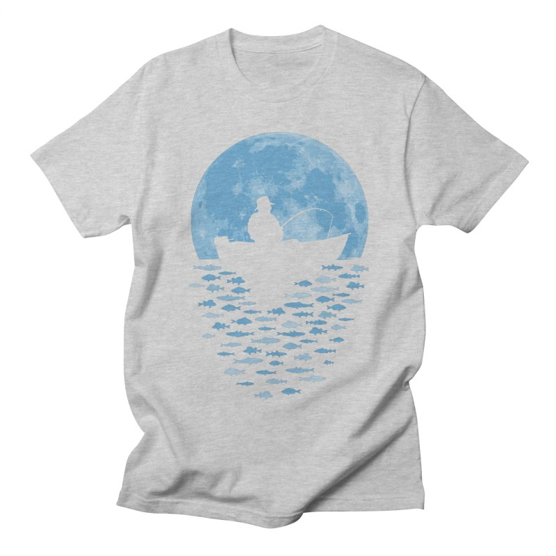 Hooked by Moonlight Men's T-Shirt by Grandio Design Artist Shop