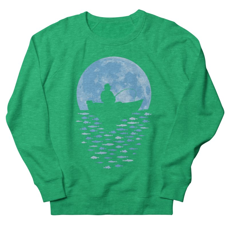 Hooked by Moonlight Women's Sweatshirt by Grandio Design Artist Shop