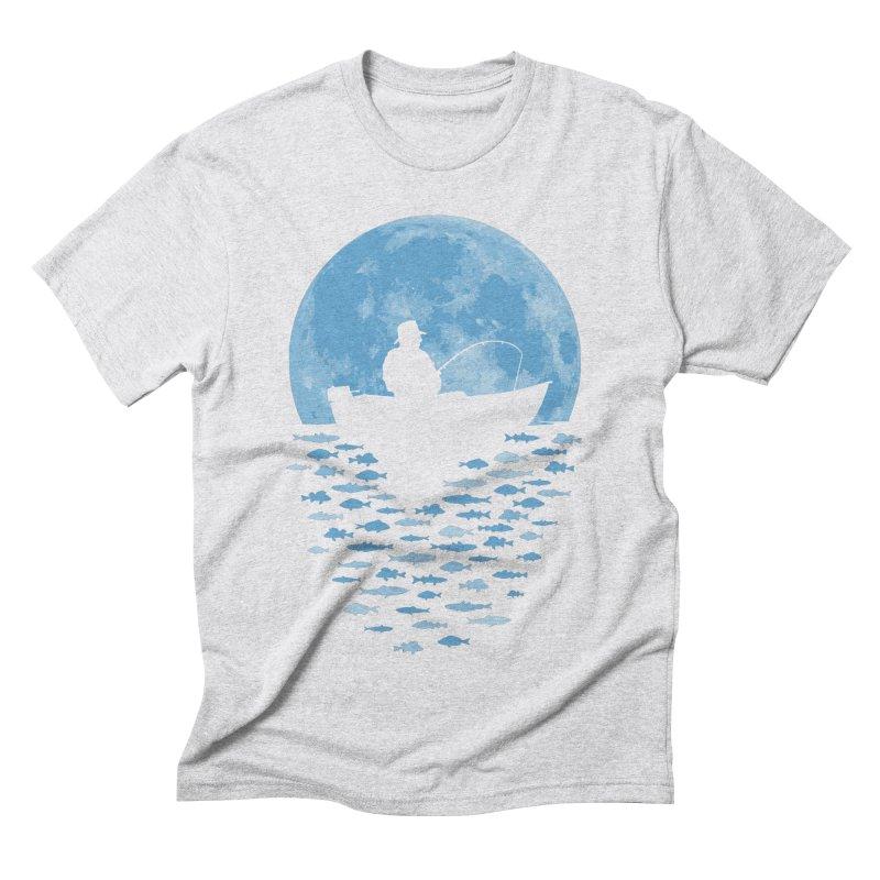 Hooked by Moonlight Men's Triblend T-Shirt by Grandio Design Artist Shop