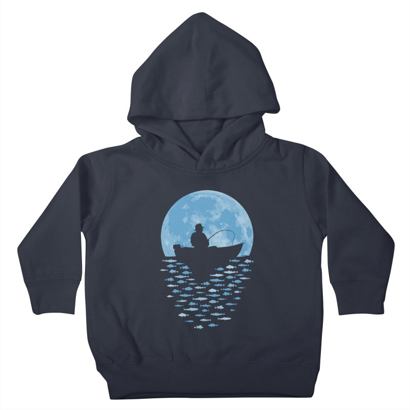 Hooked by Moonlight Kids Toddler Pullover Hoody by Grandio Design Artist Shop