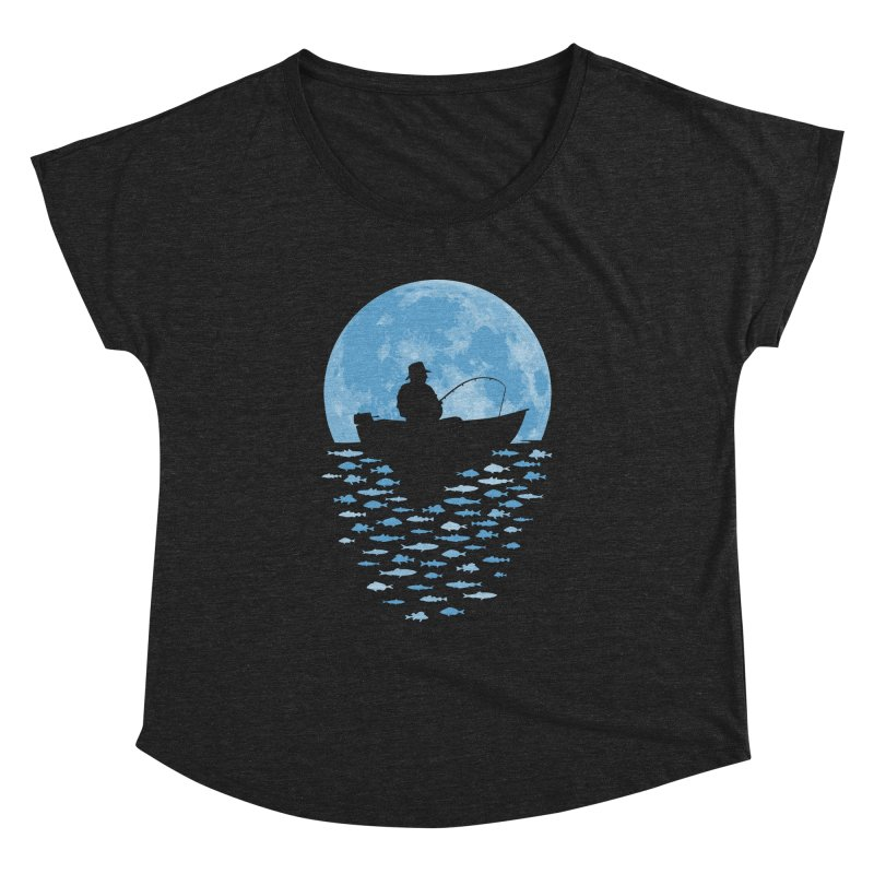 Hooked by Moonlight Women's Dolman by Grandio Design Artist Shop