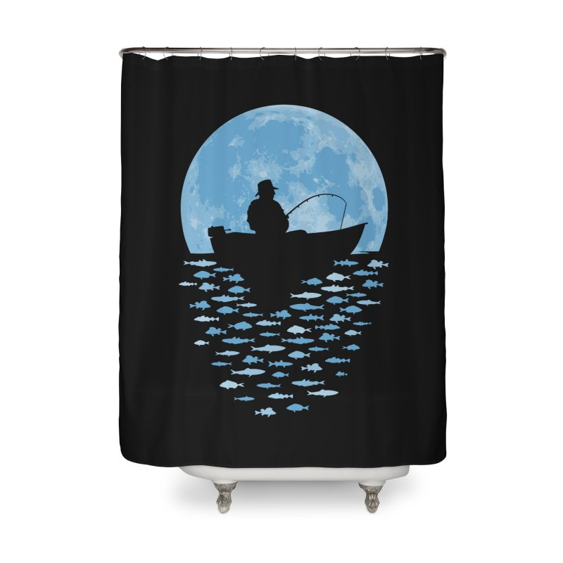 Hooked by Moonlight Home Shower Curtain by Grandio Design Artist Shop