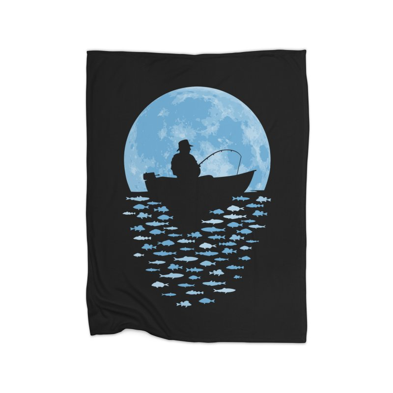 Hooked by Moonlight Home Blanket by Grandio Design Artist Shop