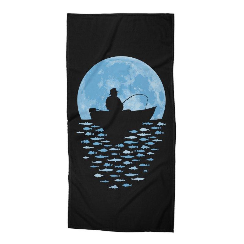 Hooked by Moonlight Accessories Beach Towel by Grandio Design Artist Shop