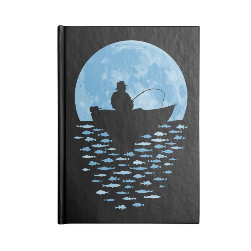 Hooked by Moonlight Accessories Notebook by Grandio Design Artist Shop
