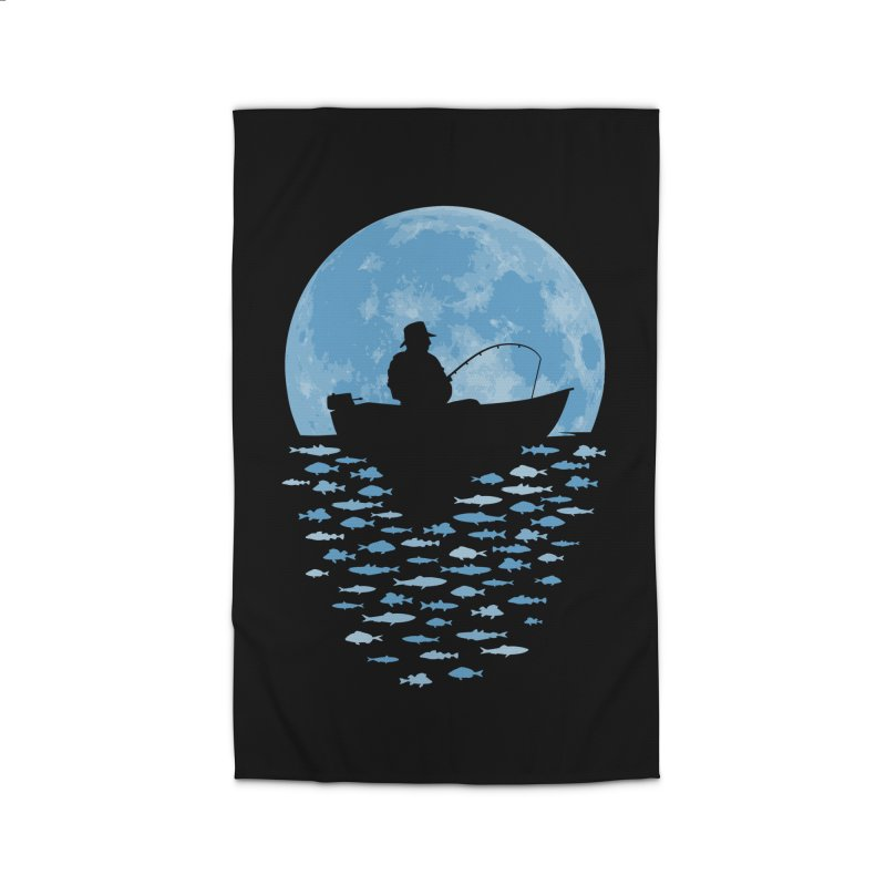 Hooked by Moonlight Home Rug by Grandio Design Artist Shop
