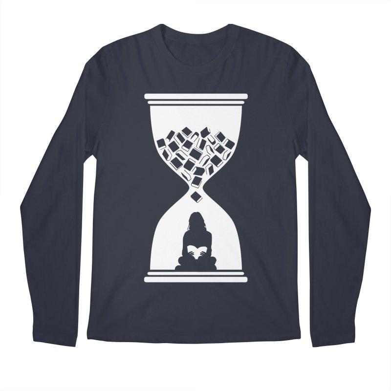 So Many Books So little Time Men's Longsleeve T-Shirt by Grandio Design Artist Shop