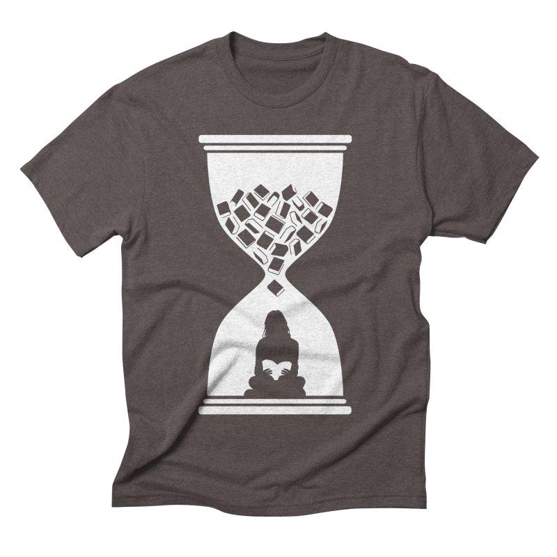 So Many Books So little Time Men's Triblend T-Shirt by Grandio Design Artist Shop