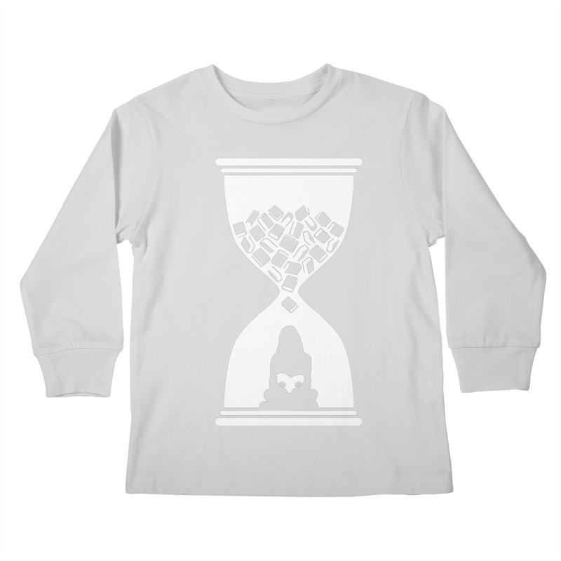So Many Books So little Time Kids Longsleeve T-Shirt by Grandio Design Artist Shop