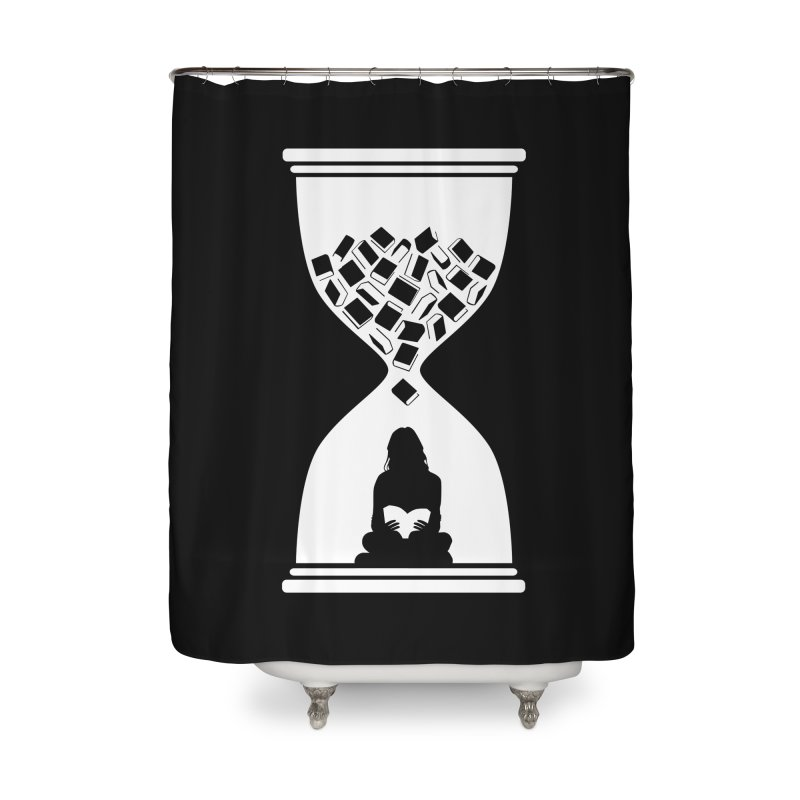 So Many Books So little Time Home Shower Curtain by Grandio Design Artist Shop