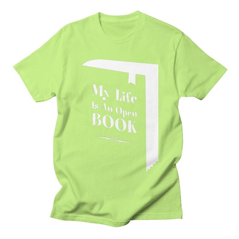 My Life Is An Open Book Men's T-Shirt by Grandio Design Artist Shop
