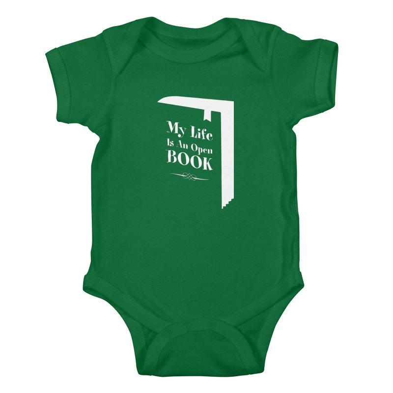 My Life Is An Open Book Kids Baby Bodysuit by Grandio Design Artist Shop