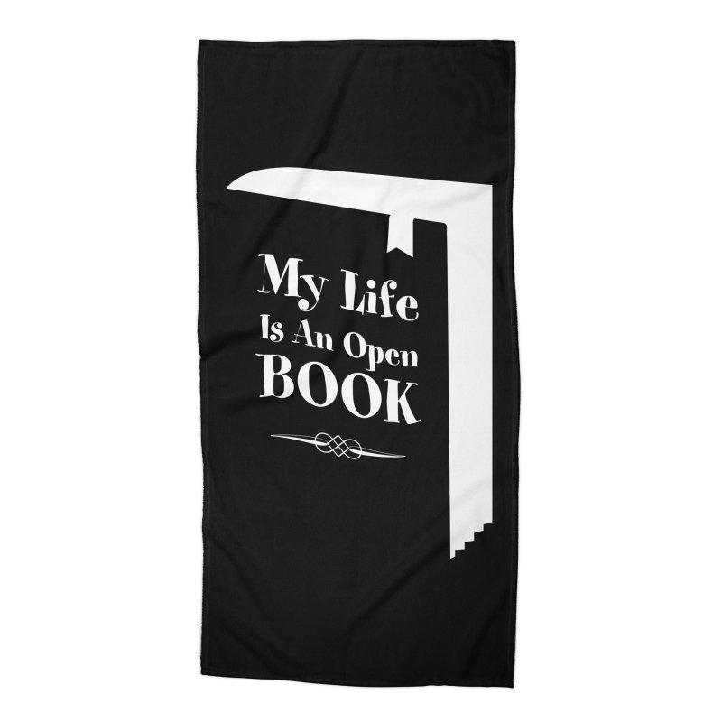 My Life Is An Open Book Accessories Beach Towel by Grandio Design Artist Shop