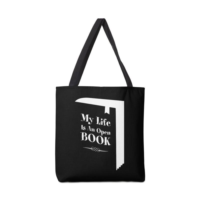 My Life Is An Open Book Accessories Bag by Grandio Design Artist Shop