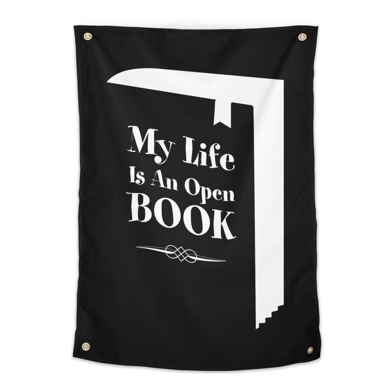 My Life Is An Open Book Home Tapestry by Grandio Design Artist Shop