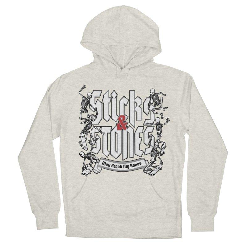 Sticks and Stones Women's Pullover Hoody by Grandio Design Artist Shop