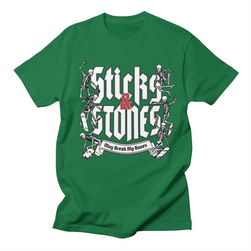 Sticks and Stones Women's Unisex T-Shirt by Grandio Design Artist Shop