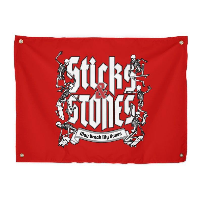 Sticks and Stones Home Tapestry by Grandio Design Artist Shop