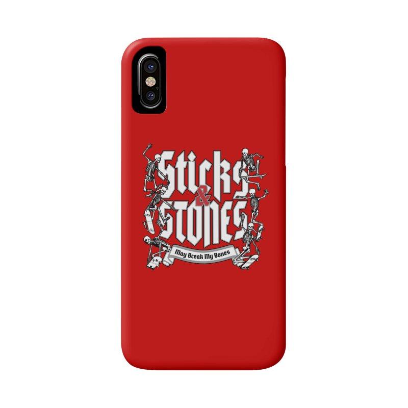 Sticks and Stones Accessories Phone Case by Grandio Design Artist Shop