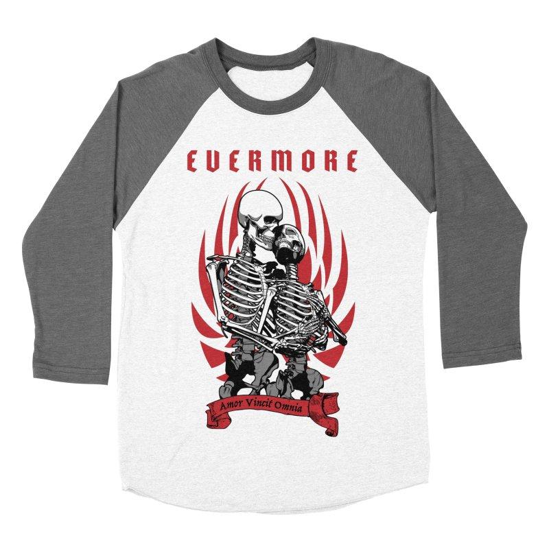 Evermore Women's Baseball Triblend T-Shirt by Grandio Design Artist Shop