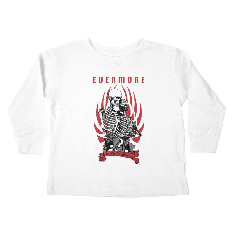 Evermore Kids Toddler Longsleeve T-Shirt by Grandio Design Artist Shop