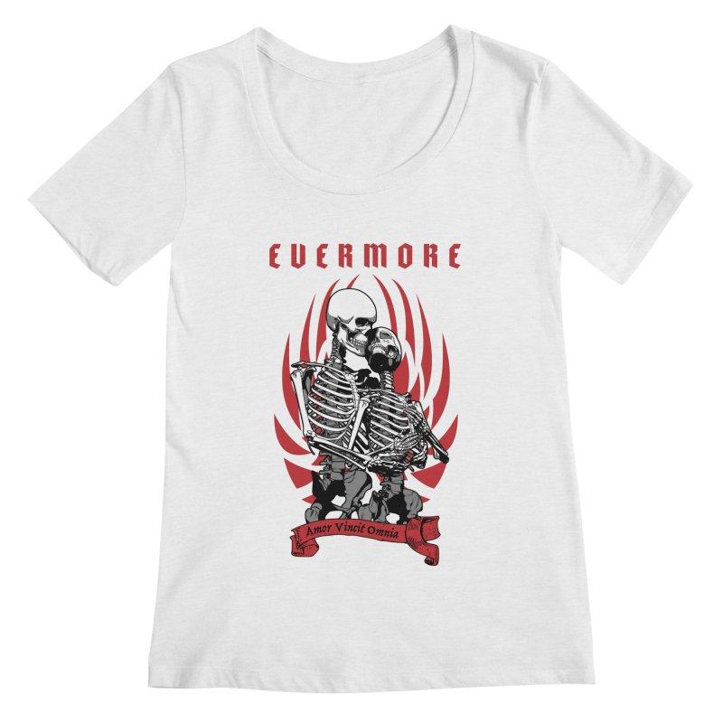 Evermore Women's Scoopneck by Grandio Design Artist Shop