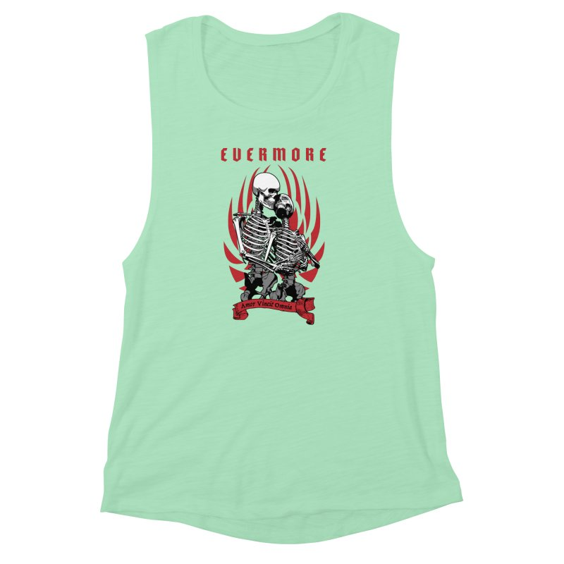 Evermore Women's Muscle Tank by Grandio Design Artist Shop