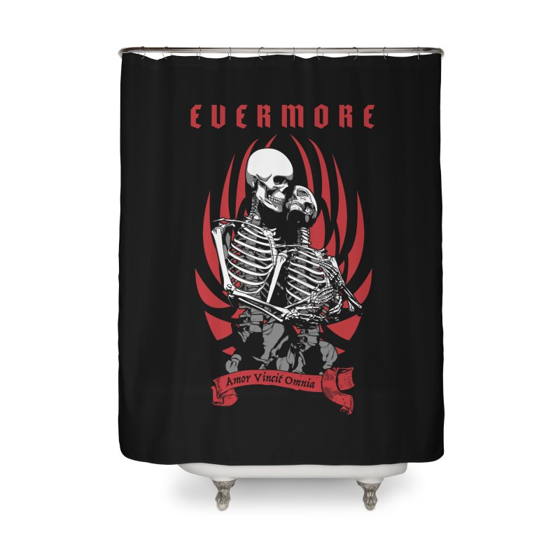 Evermore Home Shower Curtain by Grandio Design Artist Shop
