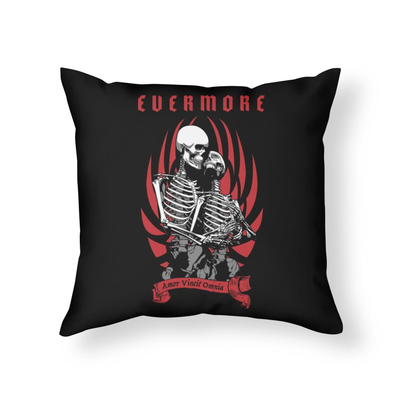 Evermore Home Throw Pillow by Grandio Design Artist Shop